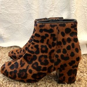 Zara Shoes - Leopard print Zara booties